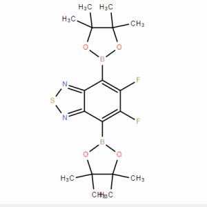 [4,7-二硼酸频哪醇酯-5,6-二氟-2,1,3-苯并噻二唑]CAS号:1295502-63-4