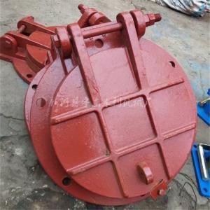 PMY型DN1500铸铁拍门 涵管防倒灌止回阀 排水管单向阀