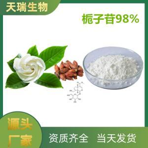 栀子苷98% 生产厂家供应 栀子提取物