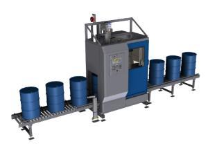 100公斤润滑灌装机 大桶打包装机