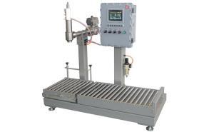 胶粘剂罐装机 20公斤小型液体灌装生产线