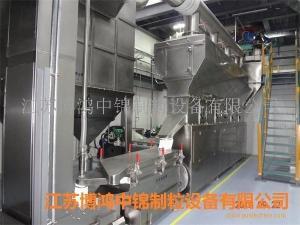江苏博鸿厂家供应高品质:高氨酸钠卧式流化床沸腾干燥机