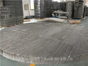 ZGY-250型号不锈钢孔板波纹填料洗苯塔脱硫塔金属304/316L孔板波纹填料 产品图片