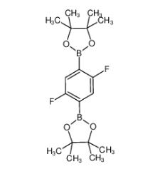 2,5-二氟-1,4-亚苯基二硼酸频那醇酯 CAS号:303006-90-8 现货优势供应 科研产品