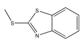 2-甲硫基苯并噻唑   CAS号:615-22-5