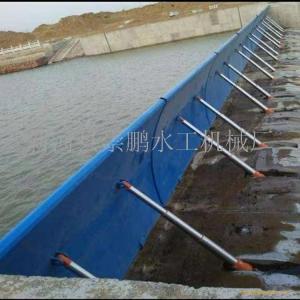 水力自控翻板闸门坝工作条件