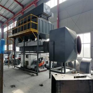 揚州|鎮江|泰州催化燃燒廢氣處理設備 涂裝廢氣催化燃燒工業設計產品圖片