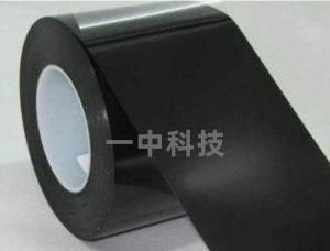 0.05mm厚度黑色遮光双面胶 全遮不透光 黑色PET材质