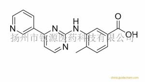 4-甲基-3-[[4-(3-吡啶-4-甲基)-2-嘧啶基]氨基]苯甲酸