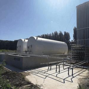 生产液氩储罐
