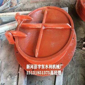 河北拍门厂家 DN300拍门  Φ300拍门 铸铁拍门价格