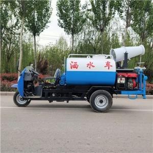 牡丹江五征三轮洒水车2方3方雾炮洒水车销售价格