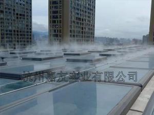 夏季工厂降温喷雾设备