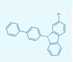 9-([1,1'-联苯]-4-基)-2-溴-9H-咔唑