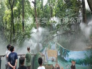 杭州景点公园喷雾降温设备