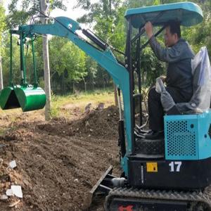 农用小型挖掘机价格 履带式开沟施肥机LjY5