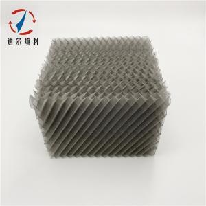 精细化工精馏塔填料金属丝网波纹规整填料 产品图片