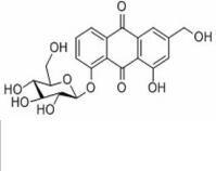 芦荟大黄素-8-O-β-D-葡萄糖苷33037-46-6 产品图片