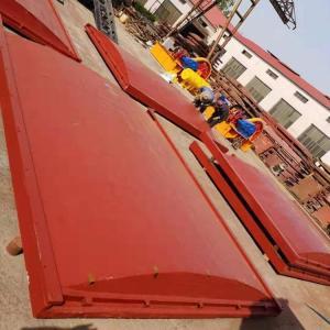 双向平面拱形闸门 双向平面拱形铸铁闸门生产厂家