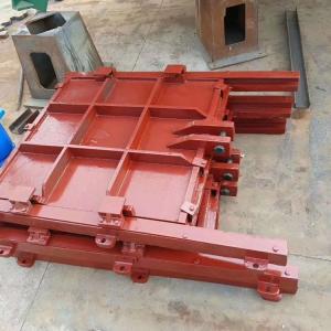 附壁式铸铁闸门生产厂家安装形式