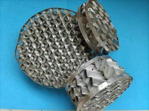 BX500型不锈钢丝网波纹 CY700金属波纹填料 304、316L丝网规整填料 产品图片