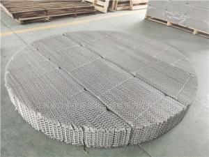 煤制甲醇常压塔填料420X丝网波纹填料板厚0.2不锈钢丝网波纹规整填料