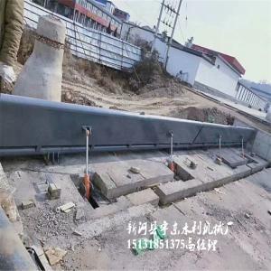 河北拦河坝铸铁闸门厂家 邢台拦水坝钢制闸门供应定制