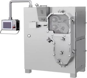 金属粉末干法制粒机,硫酸铜矿物质干法对辊挤压造粒机