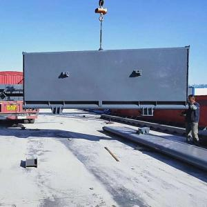 低轴驱动下卧式翻板闸门制造厂家