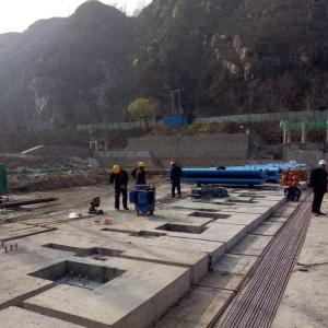 自动升降拦河坝 直通式 液压坝闸门