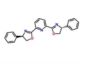 2,6-二[(4R)-4-苯基-2-恶唑啉基]吡啶    CAS号:128249-70-7