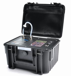 满足T/CECS 569-2019新标准LB-FD700泵吸静电收集α能谱测氡仪 产品图片