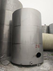 二手20吨不锈钢储罐促销价格
