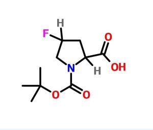 N-BOC-反式-4-氟-D-脯氨酸   CAS号:681128-50-7