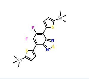 5,6-二氟-4,7-双(5-三甲基锡基噻吩-2-基)苯并[C][1,2,5]噻二唑;现货供应,价格优惠