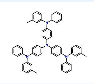 4,4',4''-三(N-3-甲基苯基-N-苯基氨基)三苯胺  CAS号:124729-98-2