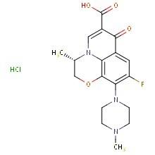 盐酸左氧氟沙星 产品图片