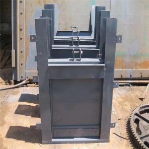 钢制插板闸门 厂家直销钢制闸门 手动钢制闸门 钢制翻板闸门产品图片