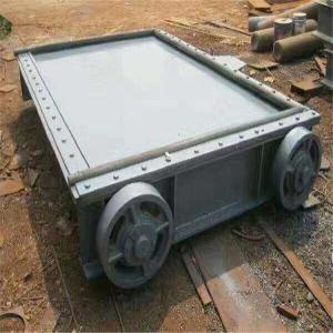 钢制插板闸门 弧形钢制闸门 钢制渠道闸门 钢制翻板闸门产品图片