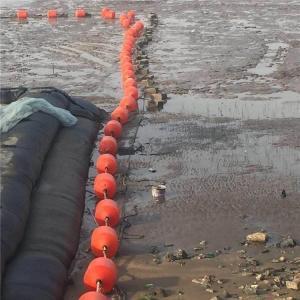 水电站PE高分子拦污排浮筒详细安装参数介绍