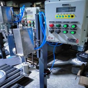 上海广志200升聚醚树脂灌装机 不锈钢防爆罐装机