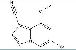 6-溴-4-甲氧基吡唑并[1,5-A]吡啶-3-甲腈
