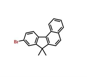 9-溴-7,7-二甲基-7h-苯并[c]芴 cas号:1198396-46-1 现货产品,优势供应 科研专用