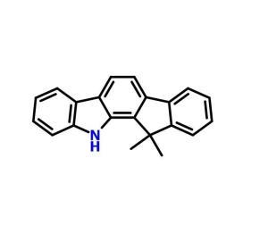11,12-二氢-12,12-二甲基茚并[1,2-A]咔唑  CAS号:1329054-41-2