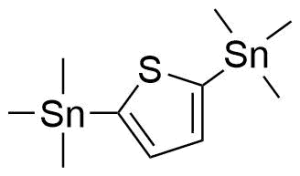 trimethyl-(5-trimethylstannylthiophen-2-yl)stannane CAS号:86134-26-12 现货优势供应 科研产品