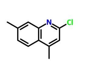 2-氯-4,7-二甲基喹啉 cas号:88499-92-7 现货产品,优势供应 科研专用