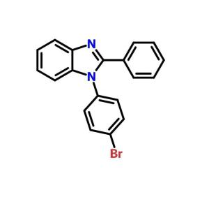 1-(4-溴苯基)-2-苯基-1H-苯并咪唑  CAS号:760212-58-6