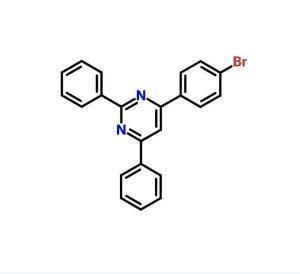 4-(4-溴苯基)-2,6-二苯基嘧啶 cas号:58536-46-2 现货产品,优势供应 科研专用