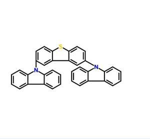 9,9'-(2,8-二苯并噻吩二基)二-9H-咔唑  CAS号:913738-04-2