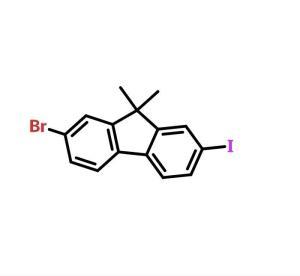 2-溴-7-碘-9,9-二甲基芴 cas号:319906-45-1 现货产品,优势供应 科研专用